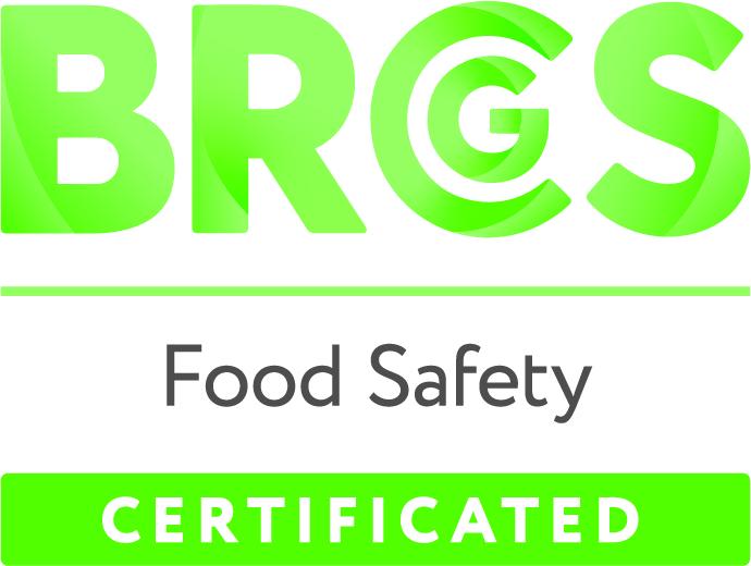 BRCGS CERT FOOD LOGO CMYK Quality